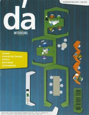 D'ARCHITECTURES 218H - JUIN 2013 INTERIEURS
