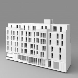 CONSTRUCTION DE 22 LOGEMENTS SOCIAUX, D'UNE CRÈCHE DE 13 BERCEAUX ET D'UN COMMERCE A CLAMART