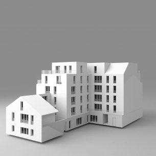 CONSTRUCTION DE 25 LOGEMENTS A SAVIGNY-SUR-ORGE (91240) - IMMOBILIERE 3F